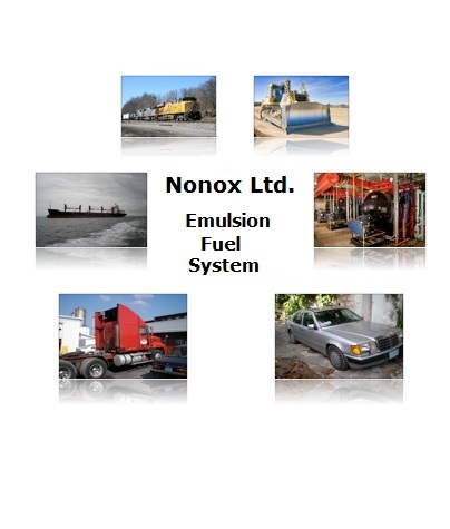 NONOX Ltd: emulsion fuel system with no surfactants
